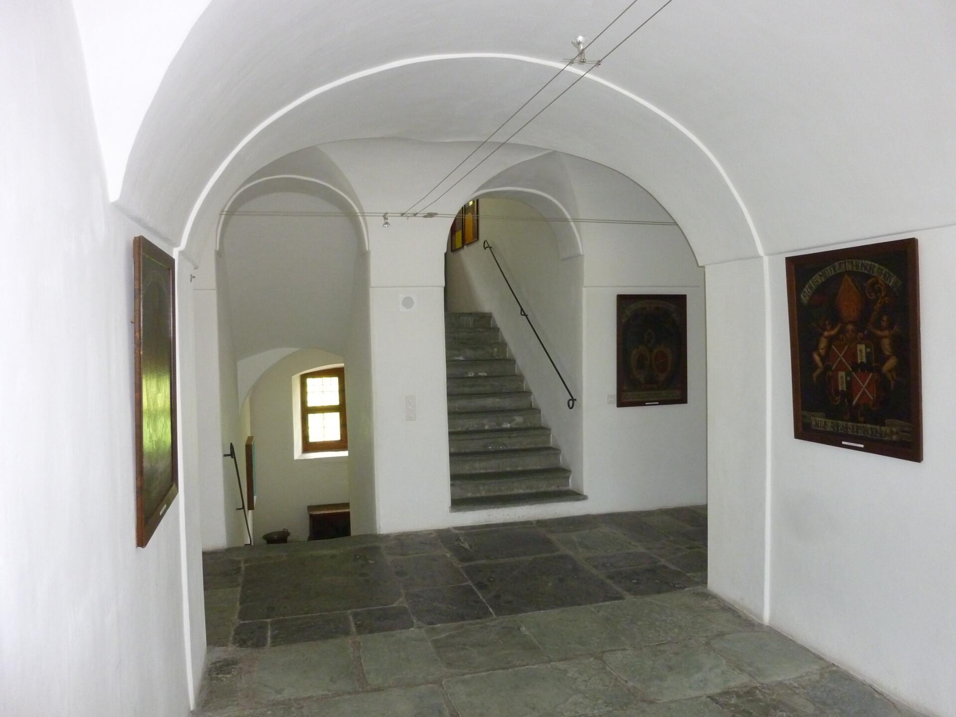 Museum Sursilvan Cuort Ligia Grischa | Treppenhaus